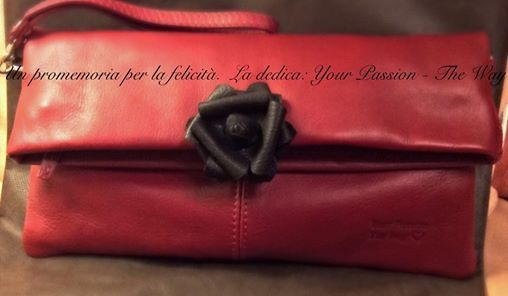 Una borsa con dedica...