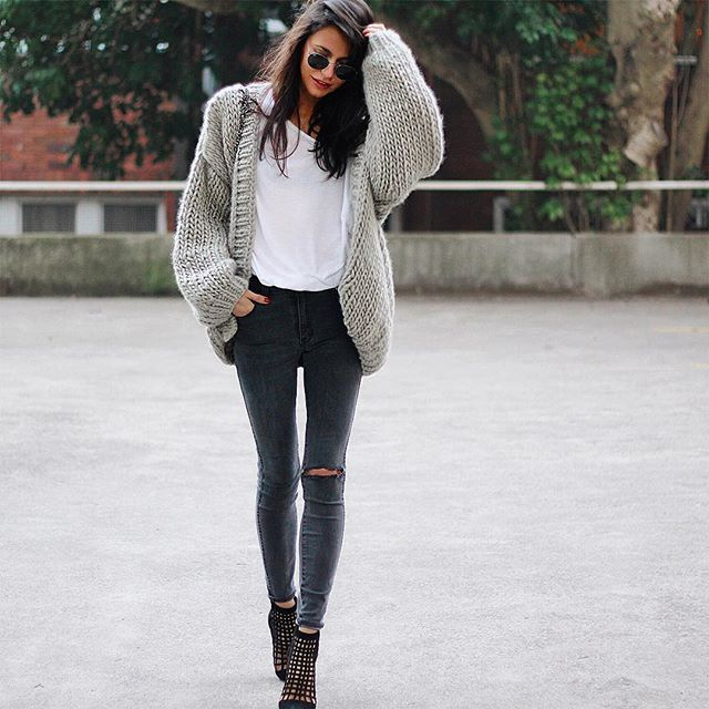hello sunday cardigan ilovemrmittens jeans rollasjeans shoes wantedshoes