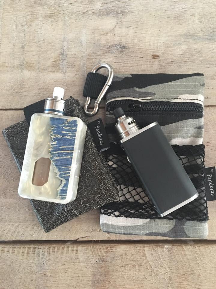 Camo Silok pouch and Vintage belt pouch.