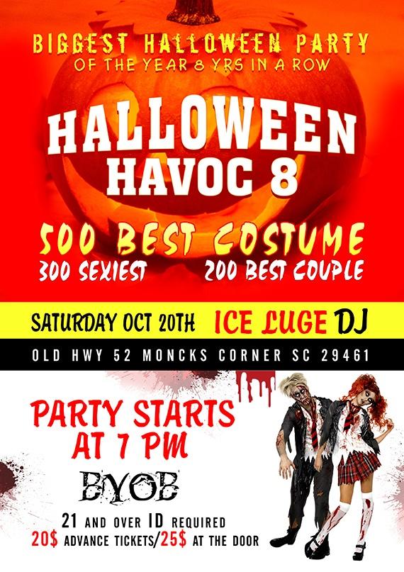 Halloween Event | Flyer Design