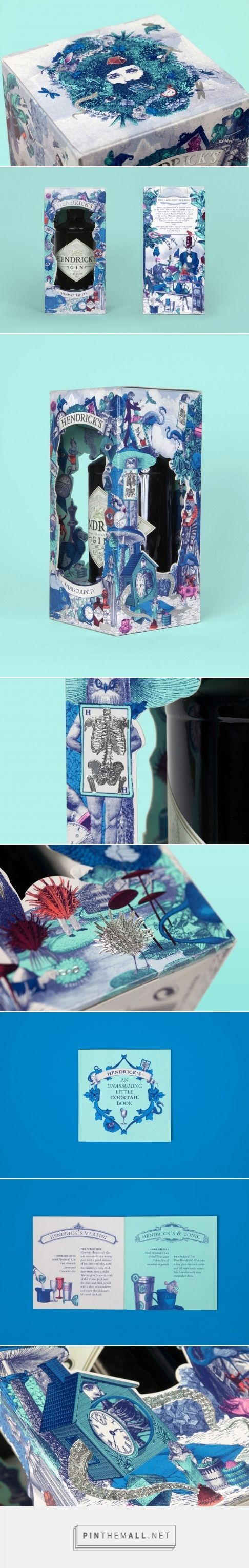 Hendrick's Minisculinity Packaging by Here Design | Fivestar Branding – Design and Branding Agency & Inspiration Gallery: