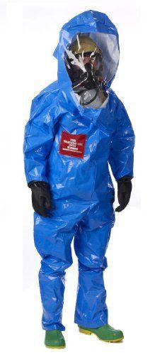 Lakeland Interceptor TES Back Entry Level A Disposable Training Suit, Large, Blue awesome