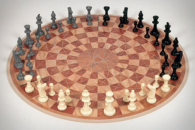 It would be fun to watch a 3-person chess match. Let me rephrase, it would be more fun then watching a 2-person chess match.
