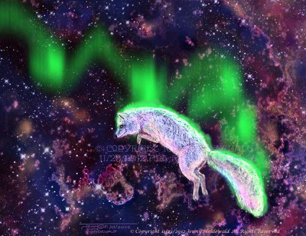 Myth the aurora borealis