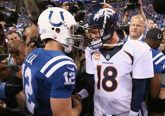 The present, the future. #Broncos #Colts