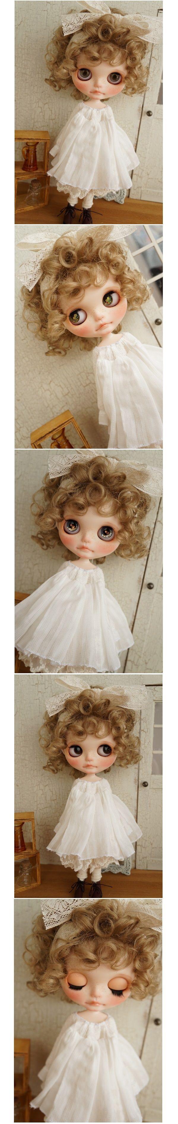 *** Custom Blythe *** Custom Blythe *** white dress of girl *** Admin - Auction - Rinkya! Japan Auction & Shopping