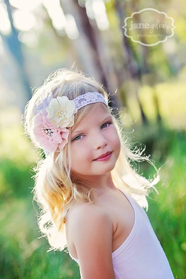 Bella Blossom Headbands-Little People dress