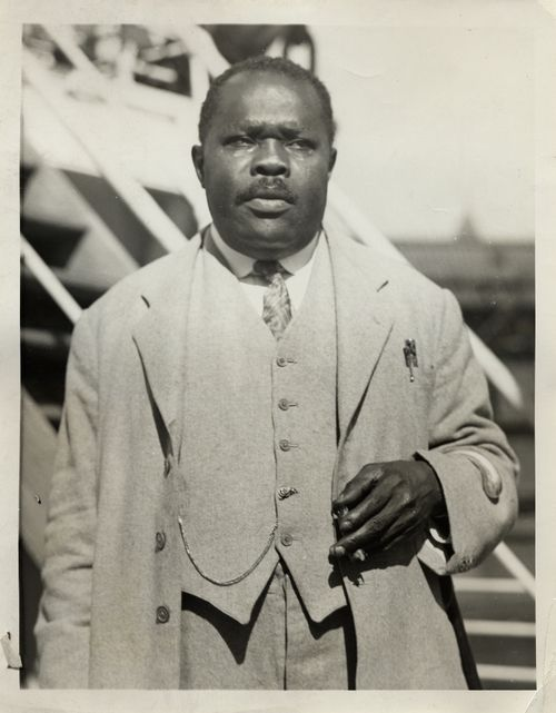 marcus garvey and the back to africa movement and teachings Early rastas were associated with his back-to-africa movement in jamaica this early rastafari movement was also influenced by a separate, proto-rasta movement known as the afro-athlican church that was outlined in a religious text known as the holy piby — where garvey was proclaimed to be a prophet as well.