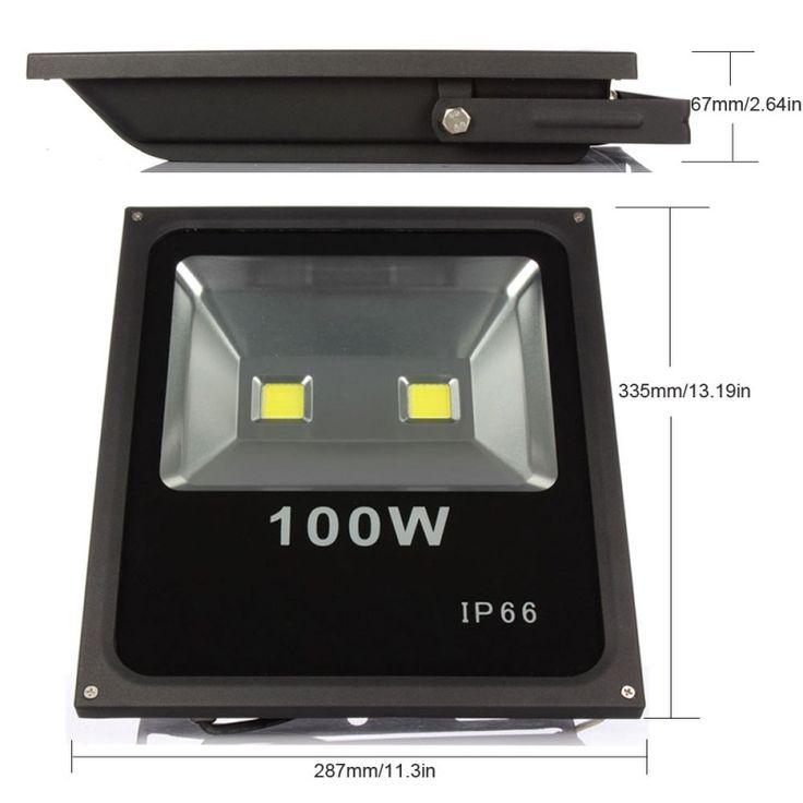 174.25$  Watch here - http://alijtd.shopchina.info/go.php?t=32644148764 - 4pcs Led Spotlight Outdoor Flood Light 100W Led Reflector Lamp Waterproof Led Outdoor Lighting IP65  #magazineonlinebeautiful