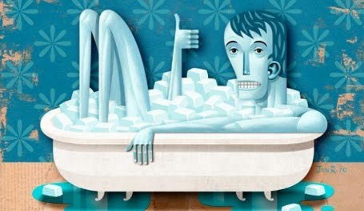 ¿Los baños de hielo ayudan en la recuperación?