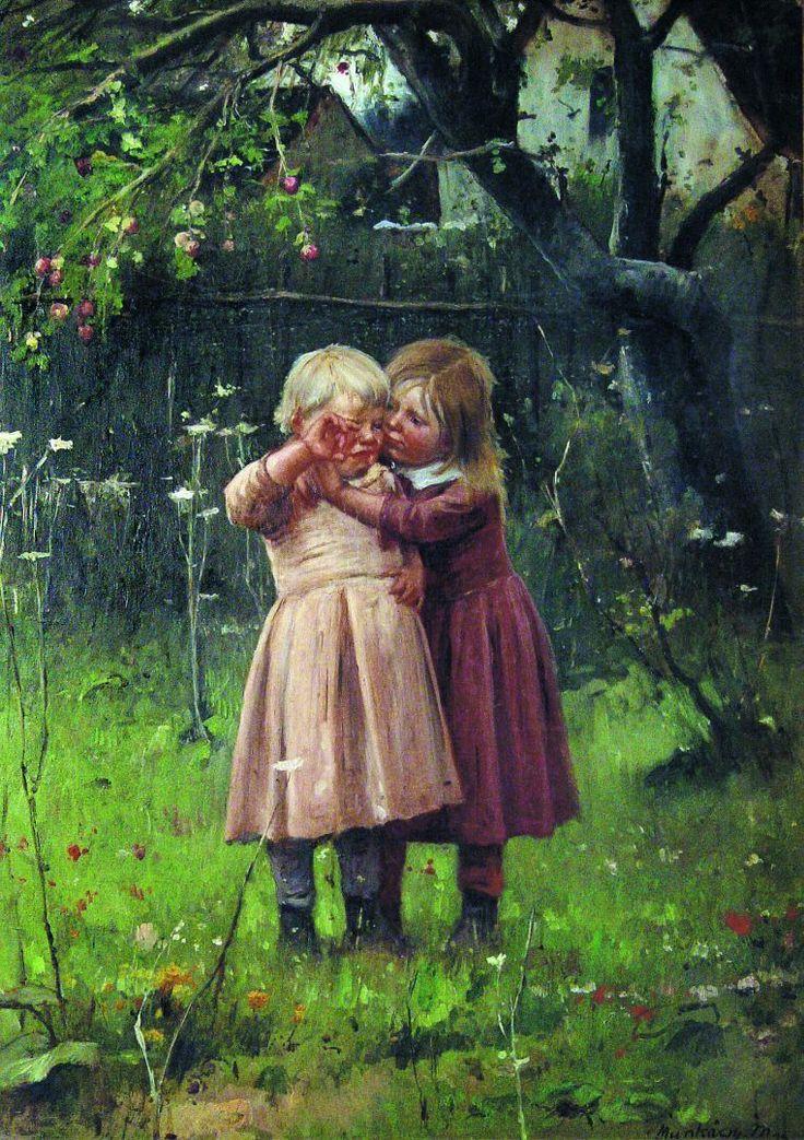 MUNKÁCSY MIHÁLY   (1844 - 1900) Ne sírj