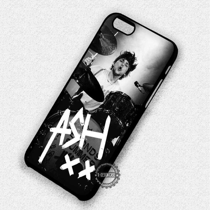 Ashton Irwin Signature 5SOS - iPhone 7 6 5 SE Cases & Covers