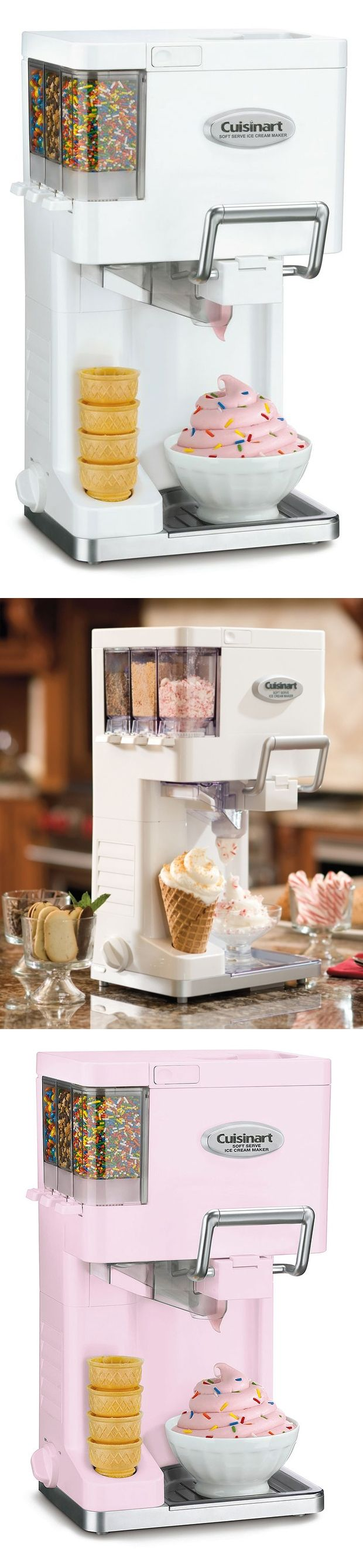 Cuisinart Mix It In Soft-Serve Ice Cream Maker -- I could make my own mcflurry