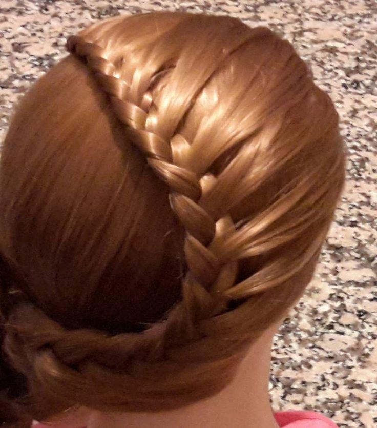 SaçModelleri 3 - Örgülü saç modeli, Braided hairstyle / Fermoon