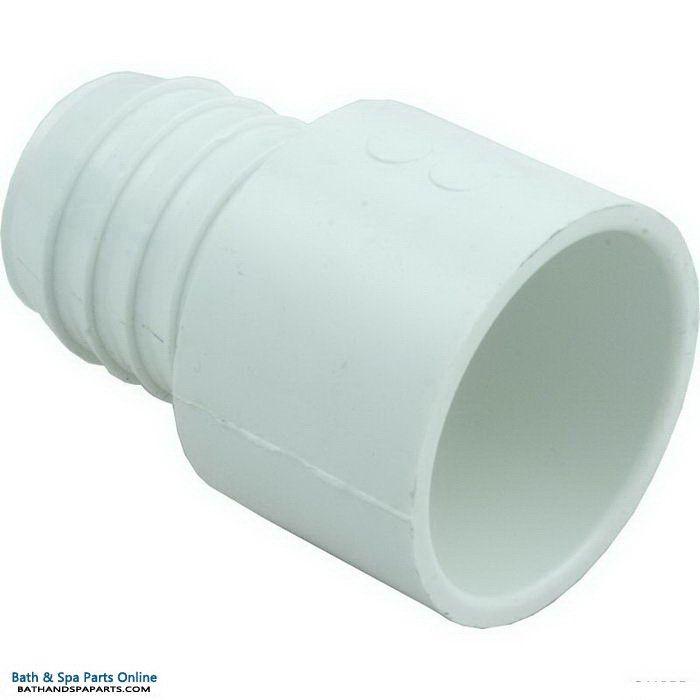 "Lasco SCH40 Barb PVC Adapter [1.5"" Slip x 1.5"" Barb] (474-015)"
