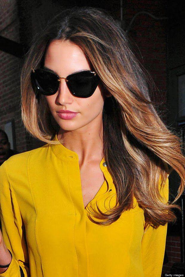Lilly Aldridge hair