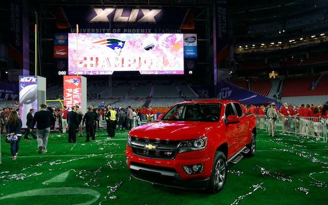 It's official: Malcolm  Butler is getting Tom Brady's MVP truck.