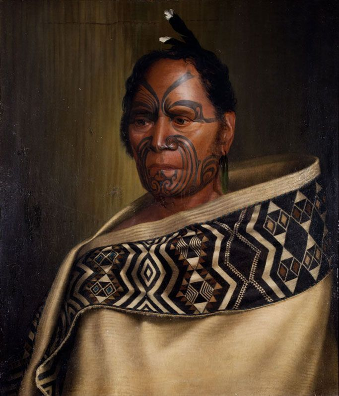 Goldie's first Maori portrait, Kawhena, 1892. Featuring  Important, Early & Rare auction 20 November 2013.