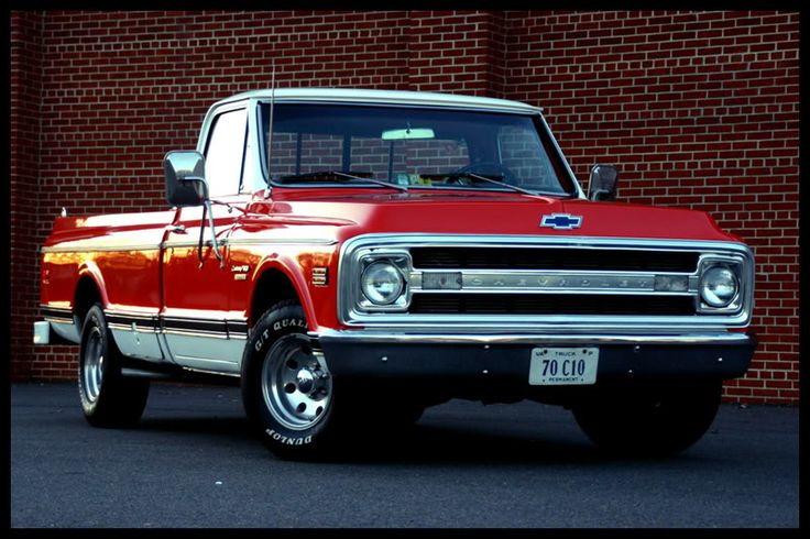I'm a huge fan of cars, but I like old Chevy trucks :)