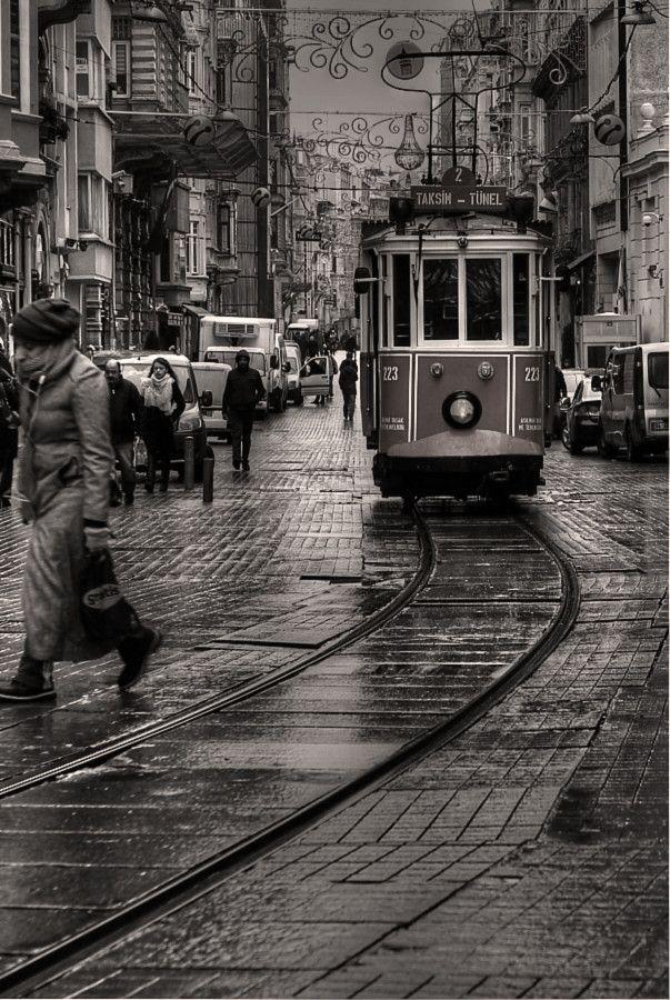 """tram&nostalji"" by e&e photography | İstiklal Avenue, Taksim, İstanbul, Turkey"