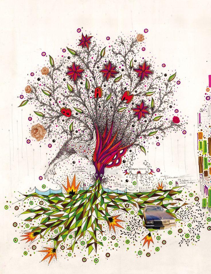 Grégoire Dalle nous ouvre les portes de son imaginaire fantasque