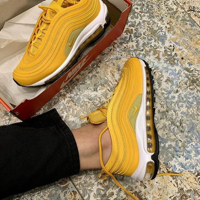 Quand les Nike Air Max 97 passent en mode jaune, ça envoie du ...