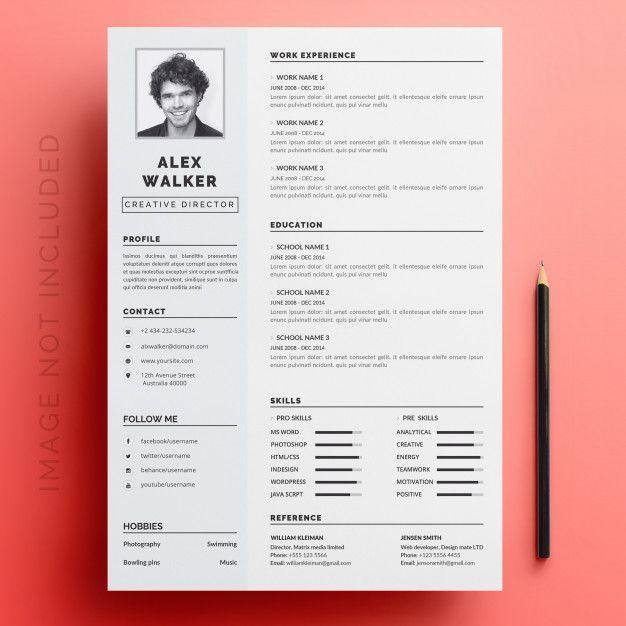 Editable Cv Format Download Creative Resume Templates Creative Resume Resume Template