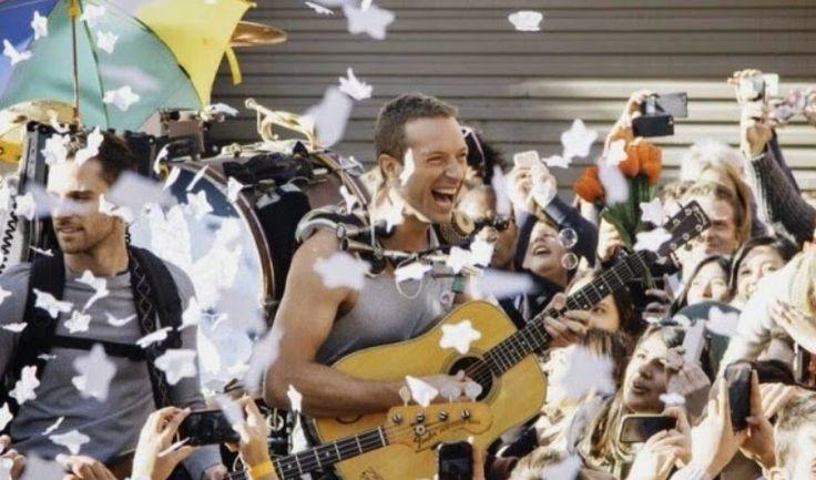 """Coldplay estrena nuevo clip """"A Sky Full Of Stars"""" grabado el pasado martes en las calles de Sidney."""