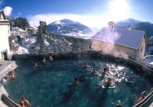 термальный центр в Бормио, Италия