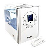 #9: Levoit Cool & Warm Mist Humidifier Ultrasonic Air Vaporizer Remote Control 6L/1.6 Gallon Capacity/Whisper-quiet with Automatic Shut-off Timer Aroma Essential Function (White)
