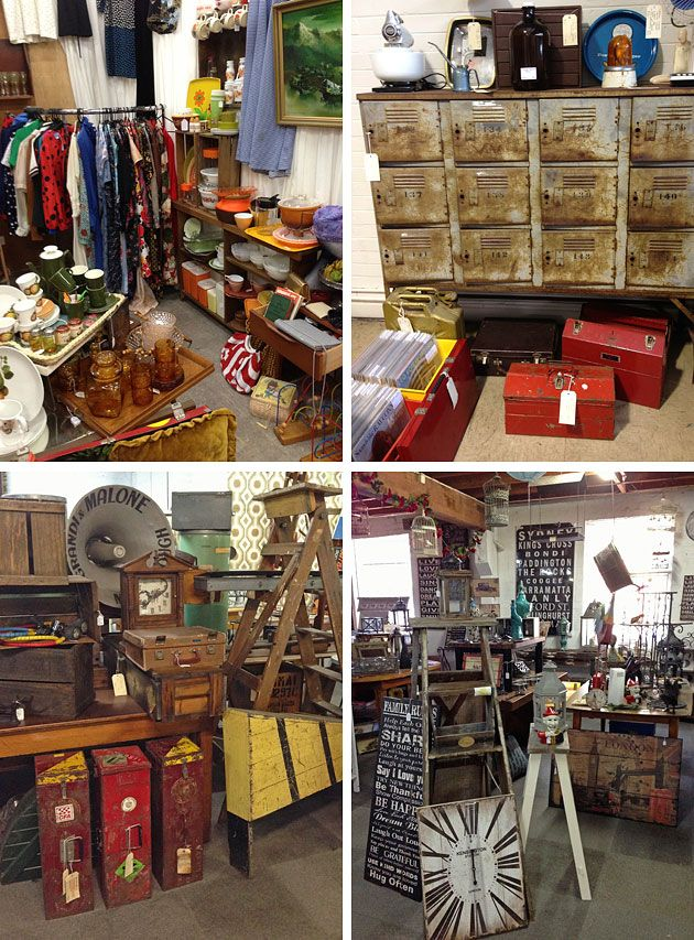15 vintage furniture and homewares bazaars in and around Melbourne, Victoria - The Junk Map