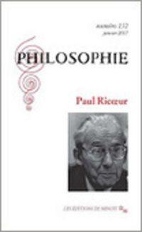 Philosophie N°132 - Ricoeur