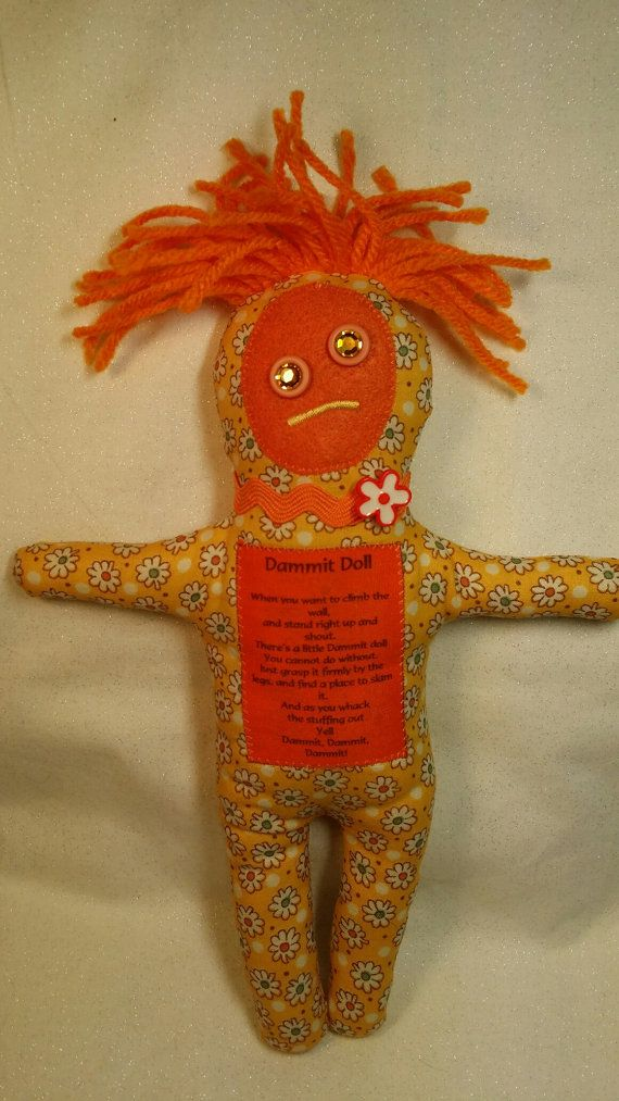 Knitting Pattern For Dammit Doll : 17 Best images about all dolls to make on Pinterest Voodoo doll costumes, G...