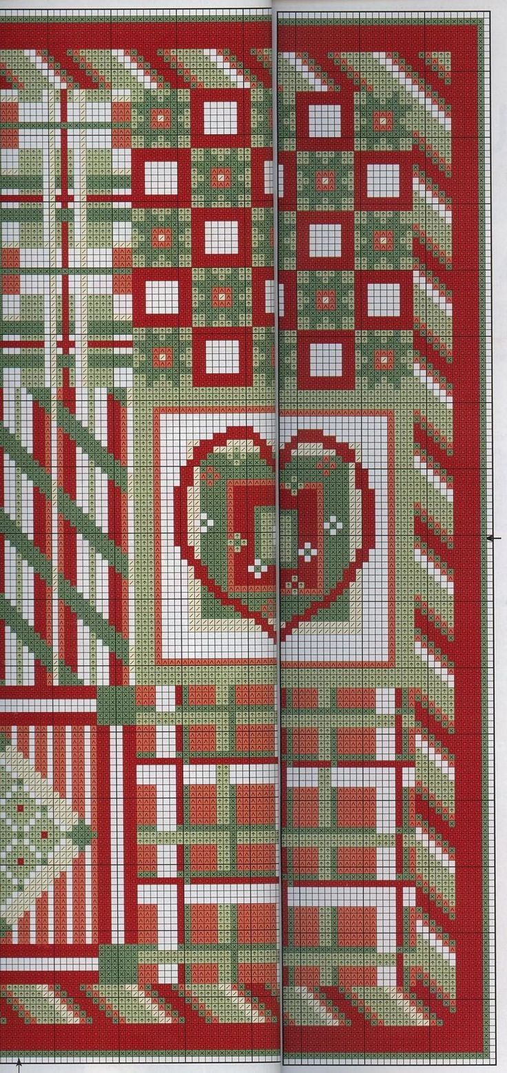red and green designs 2/4
