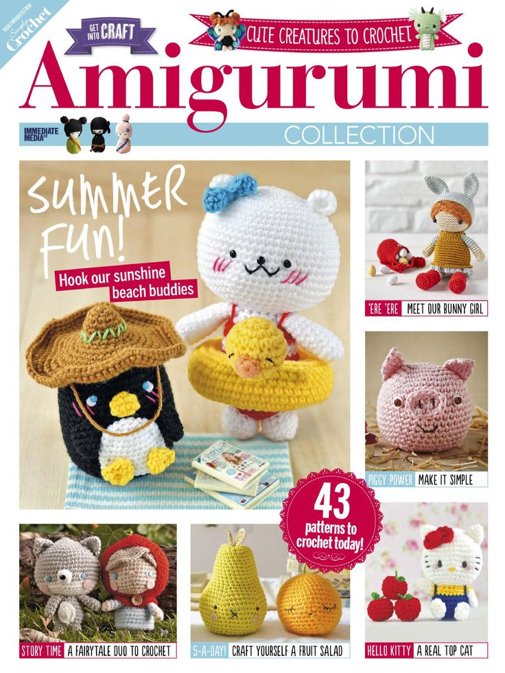 Amigurumi Made Easy Magazine : 25+ Best Ideas about Crochet Magazine on Pinterest Rowan ...