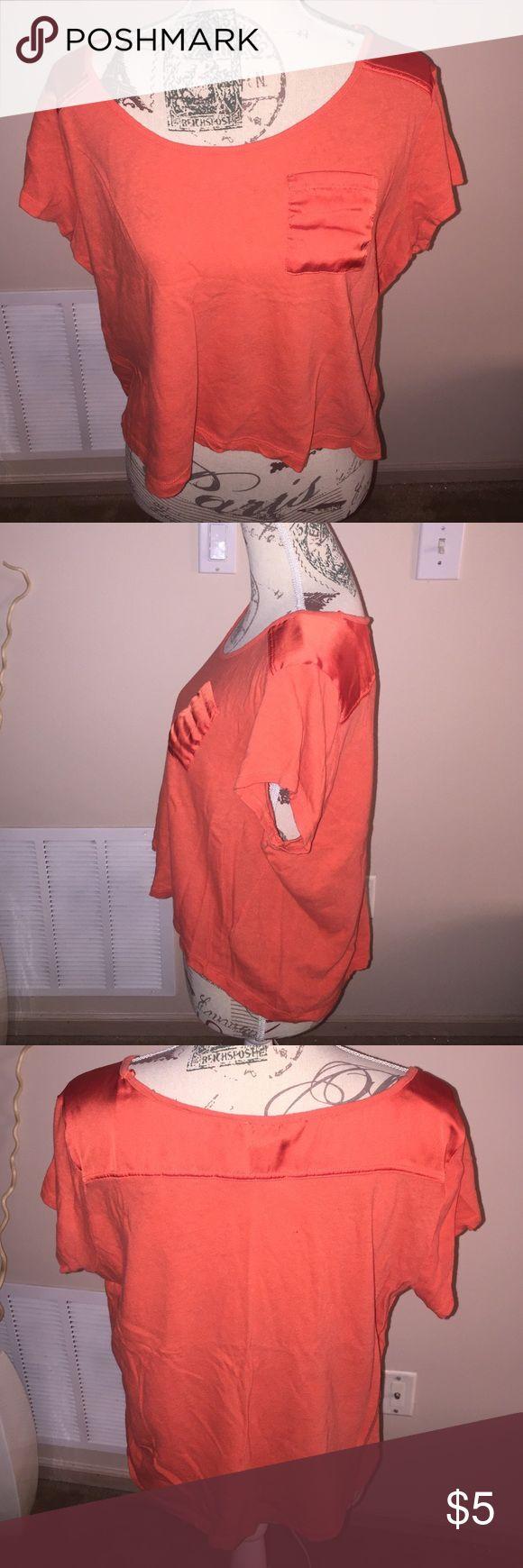 H & M tshirt size large Orange large H & M tshirt. h & m  Tops Tees - Short Sleeve