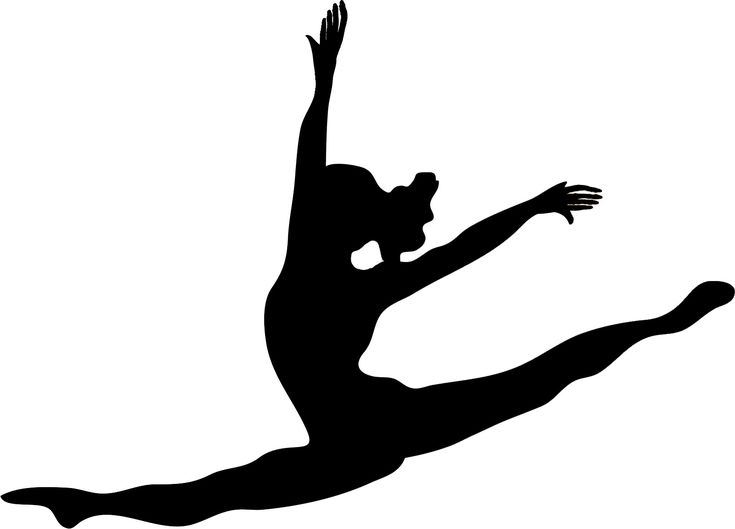 Images For > Modern Dance Silhouettes Clip Art