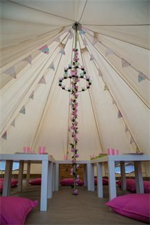Tinker Bell Tent Parties - Home