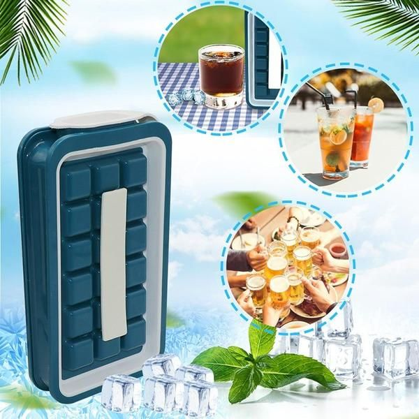 Icepopper Easy Freeze And Pop Ice Cube Maker In 2020 Ice Cube Maker Silicone Ice Cube Tray Ice Cube Molds