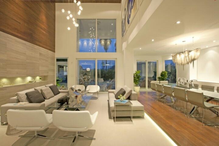 Modern open floor concept. Likeeee!