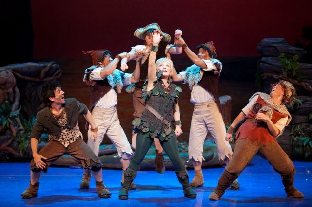 Peter Pan is a musical adaptation of J. M. Barrie's 1904 play Peter Pan and