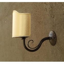 WROUGHT IRON WALL LAMP design . 181