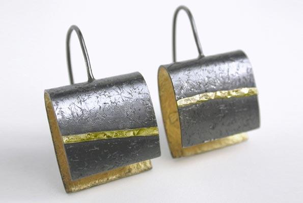 gold-inner-earrings - by Elaine Cox