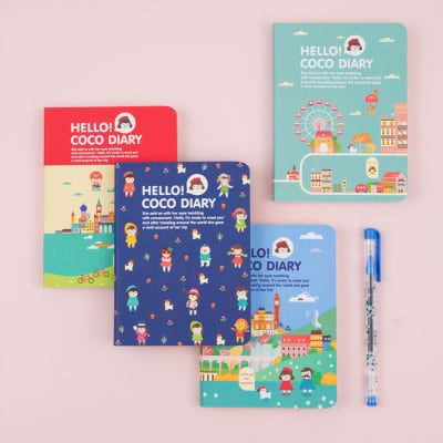 2018 Hello Coco Diary Planner