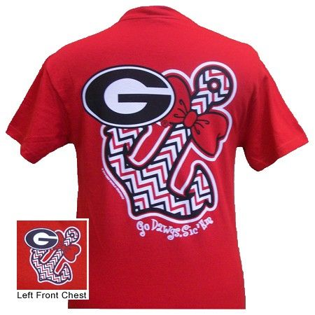 This is a 100% cotton unisex fitting t shirt. WE offer this from small to 2xl for the same price. GO DAWGS $16.99