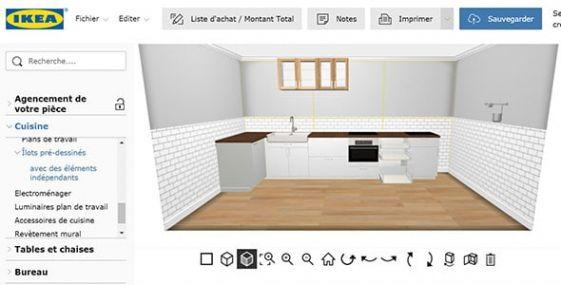 Cuisine Equipee Ou Amenagee Cuisines Pas Cher Sur Mesure Ikea Ikea Inside Plan Cuisine Ikea