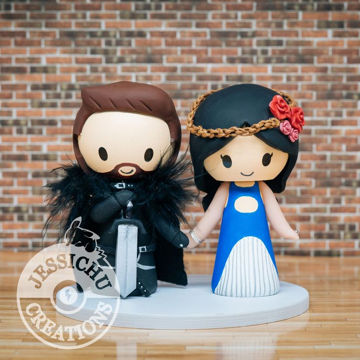 jon snow wedding cake topper 47 best geeky wedding cake topper by jessichu creations 16610
