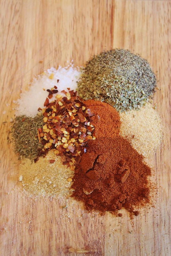 Homemade Cajun Seasoning  A blend of three different peppers, salt, spices and herbs is a good general purpose seasoning for meats and fried...