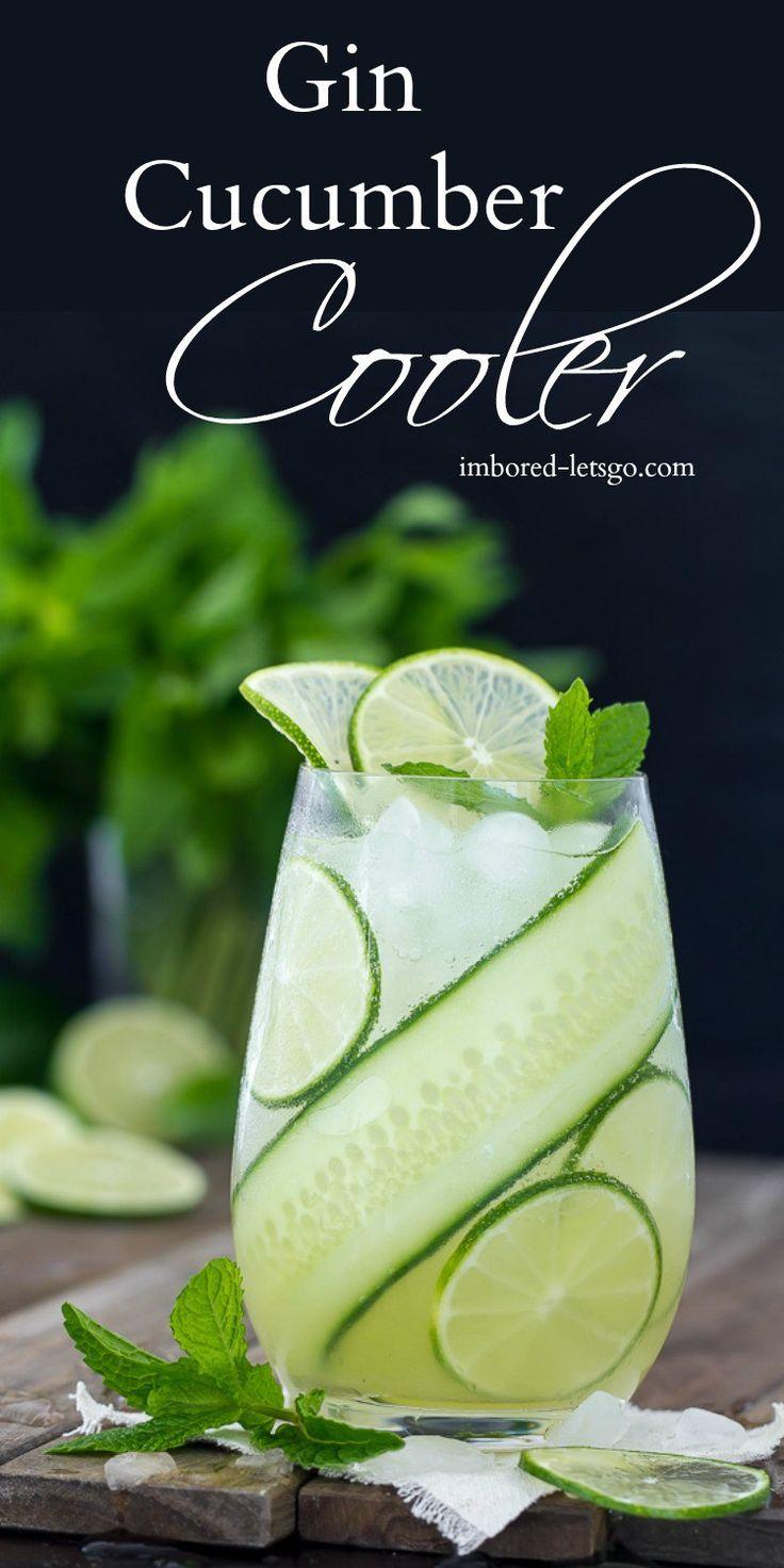 gin cucumber cooler recept drinkar ordning och