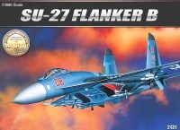Academy 12270 SUKHOI SU-27 FLANKER B (AC2131) For Air Plastic Model Kits
